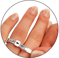 How can we determine the right ring size