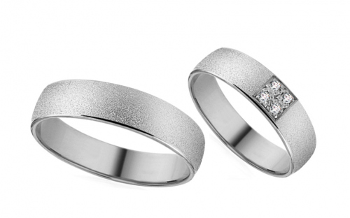 Wedding Rings - Diamond