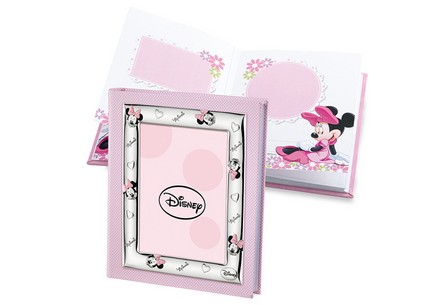 Photo album Minnie decorated with silver