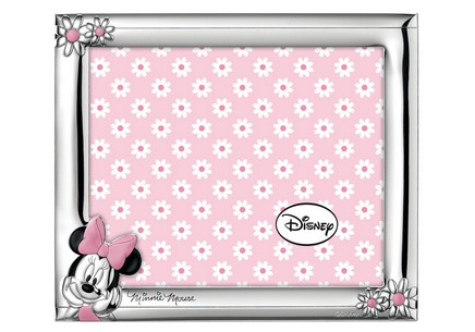Silver plated photo frame Minnie