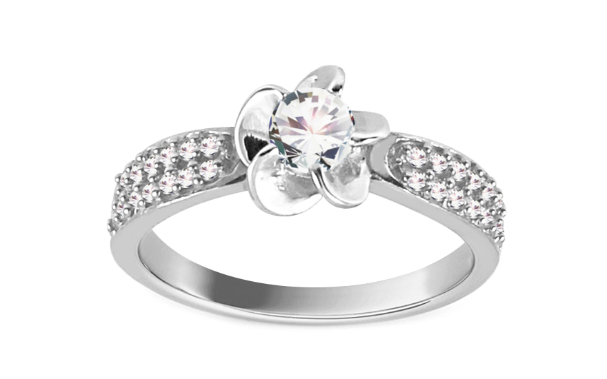 Amazing Engagement Ring Isarel 15 white - CSRI961A