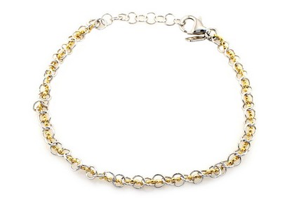 Gold Plated Silver Bracelet
