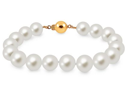 Natural White Pearls Bracelet