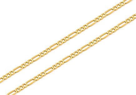 Gold chain Figaro 2 mm