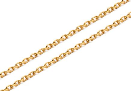 Gold chain Anker 1.7 mm