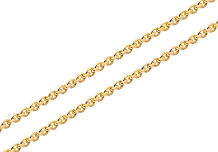 Gold chain Rolo 1,5 mm