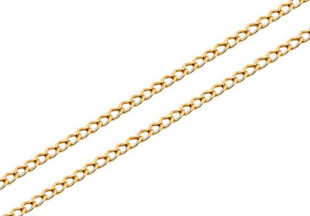 Gold chain Armor 1.5 mm