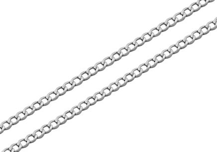 Sterling Silver chain armor 2 mm