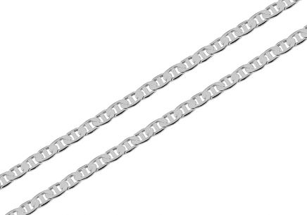 Sterling Silver chain Gucci Marina 2.5 mm