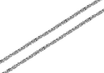 Sterling Silver men's chain 1.3 mm