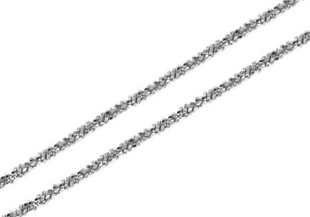 Sterling Silver necklace for women 2 mm