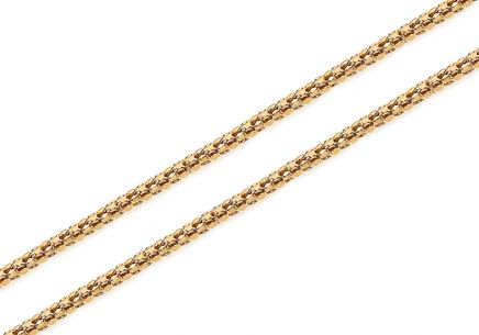 Elegant gold chain 1.5 mm
