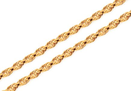 Exceptional gold chain