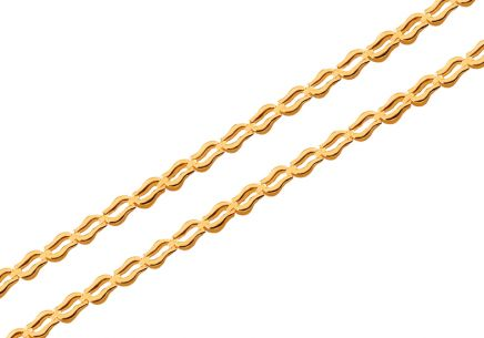 Gold chain 3 mm