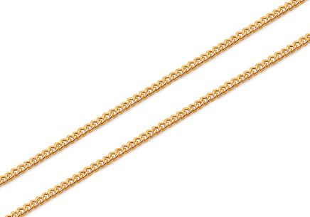 Gold chain Armor 0.7 mm