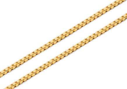 Gold chain cable 1.5mm
