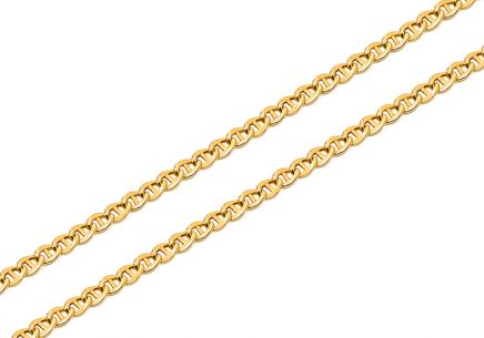 Gold chain Gucci Marina 3mm