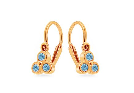 Children's Cubic Zirconia Earrings