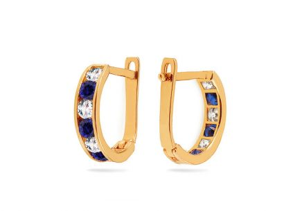 Girl's Zircon Earrings