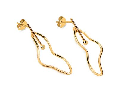 Earrings from the collection Heratis Wire Art