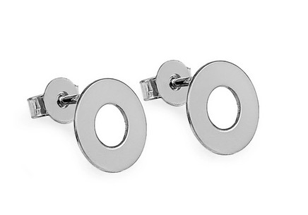 Sterling Silver Earrings Wheels