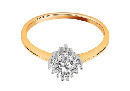 Gold Engagement Ring Diane 3
