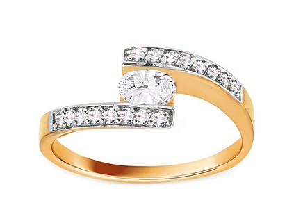 Gold Engagement Ring Isarel 1