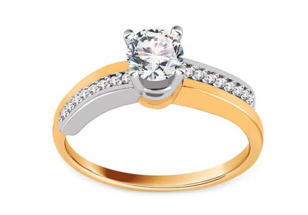 Gold Engagement Ring Isarel 22