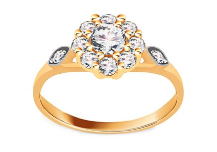 Gold Engagement Ring Isarel 7