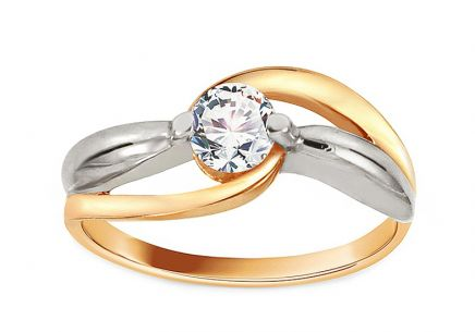Gold Engagement Ring Ramona 11