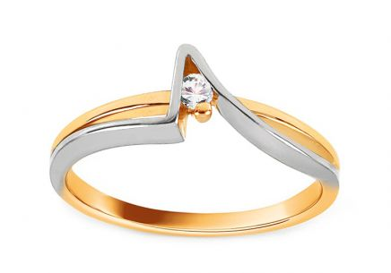 Gold Engagement Ring Ramona 2