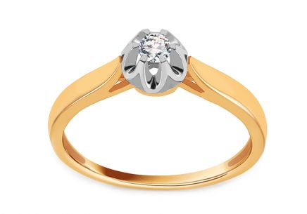 Gold Engagement Ring Ramona 6