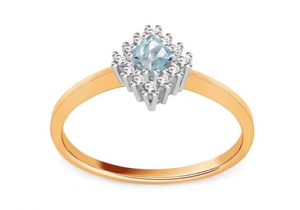 Ladies Ring with Zircon