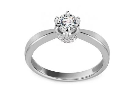 Brilliant engagement ring from the Paris collection 0.150 ct