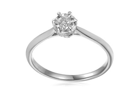 Brilliant engagement ring from the Paris collection