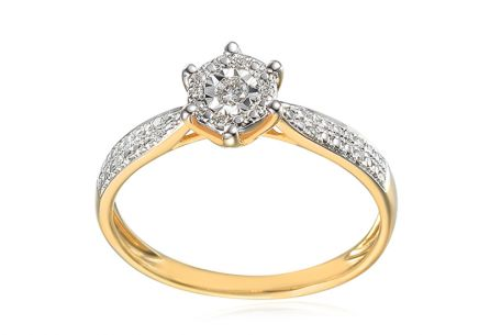 Diamond engagement ring from the Paris 0.080 ct collection