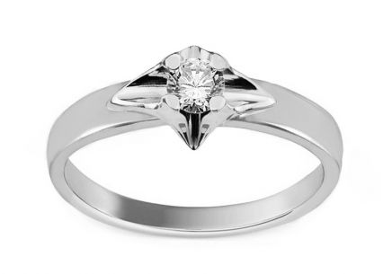 Engagement ring Always with 0.150 ct diamond