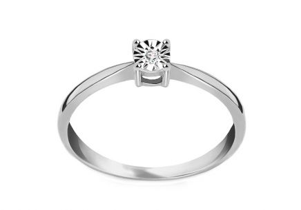 Engagement Ring with 0,010 ct Diamond Mariya 8