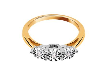 Engagement Ring with  0,090 ct Brilliants Mariya 11