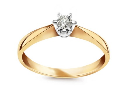 Engagement Ring with 0.110 ct Diamond Nela young