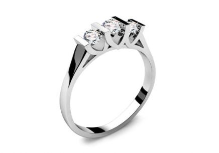Engagement Ring with 0,310 ct Diamonds Tree Treasures