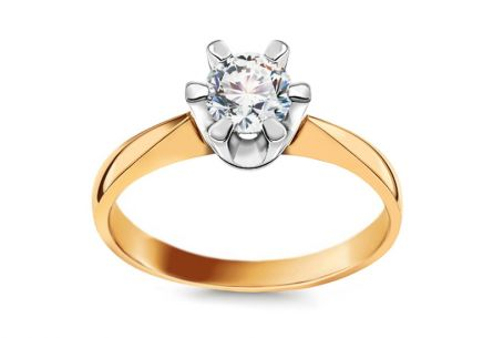 Engagement Ring with Charming 0.5 Carat Diamond 0.500ct Nela 2