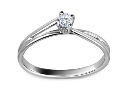 Engagement Ring with Diamond 0,090 ct Sessi