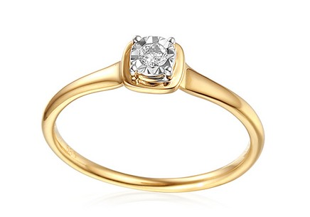 Engagement Ring with Diamond Valorie