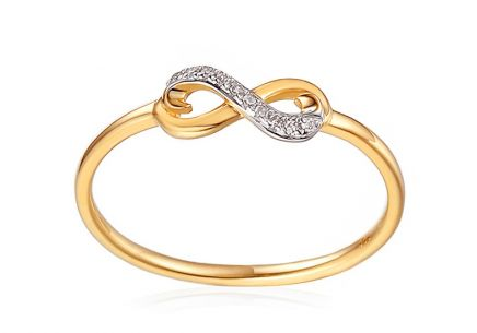 Gold Diamond Ring Be Happy