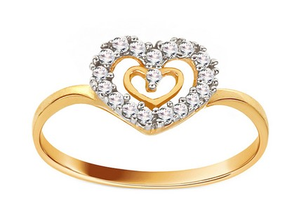Gold Engagement Ring Anabel 1