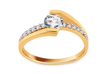 Gold Engagement Ring Giggi