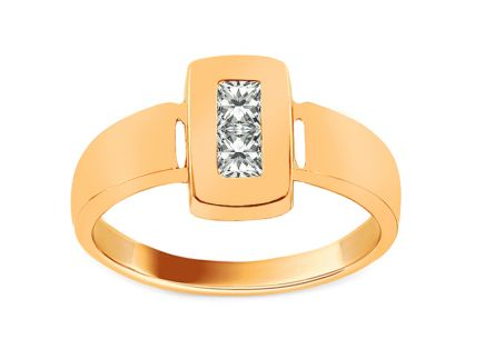 Gold Engagement Ring Ramona 8