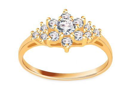 Goldeb Engagement ring Isarel 5