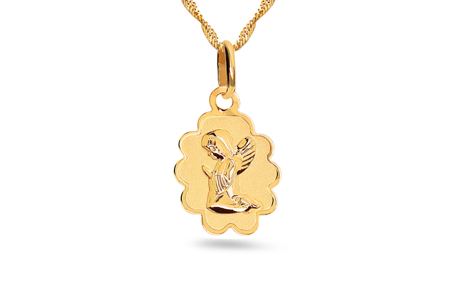 Gold Angel Pendant - IZ7505